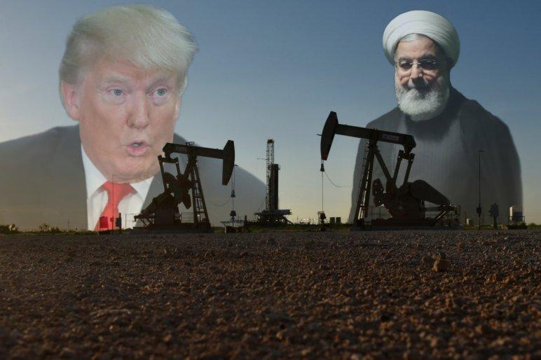 Donald Trump amerikai elnök és Haszan Róháni iráni elnök