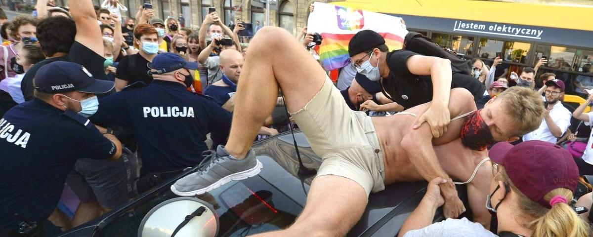 Lengyel meleg aktivista