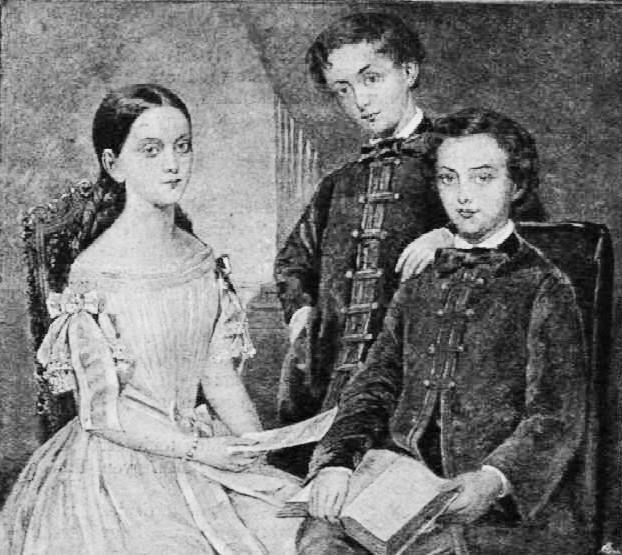 A Kossuth-Meszlényi gyerekek